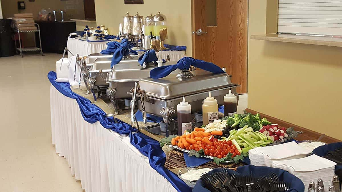 Wedding Catering Steak Shop Catering Winona MN - Table 301 catering