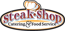 Steak Shop Catering Logo